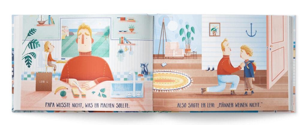 Buchempfehlung Kinderbuch weinen Gefühle